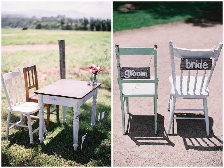 byron bay wedding styling