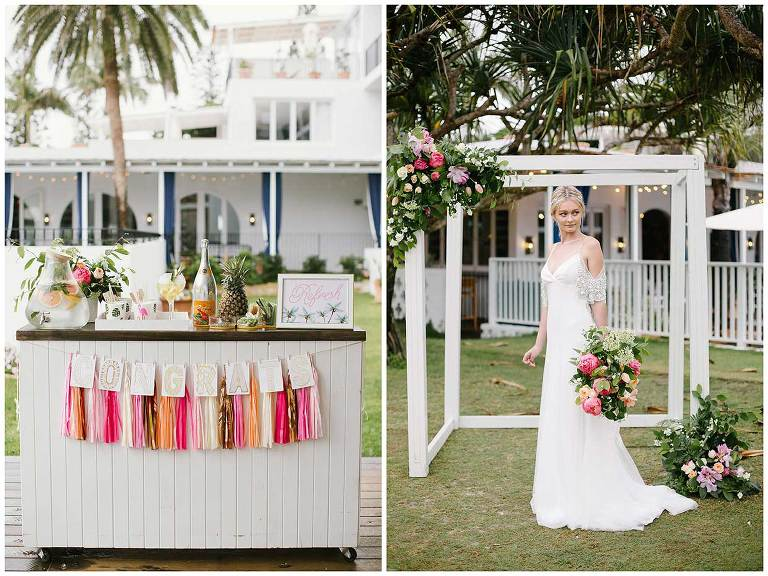 Halcyon House wedding styling