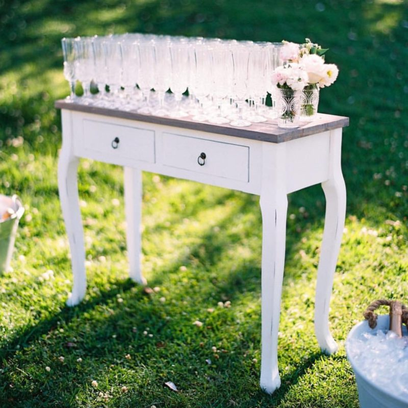 Wedding Hire French Table