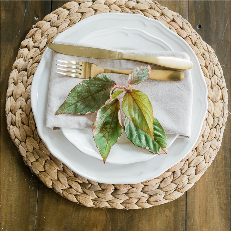 Wedding Hire Place Mat Charger Plate