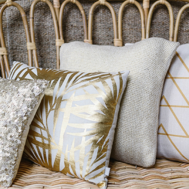 Cushions Assorted - Golds