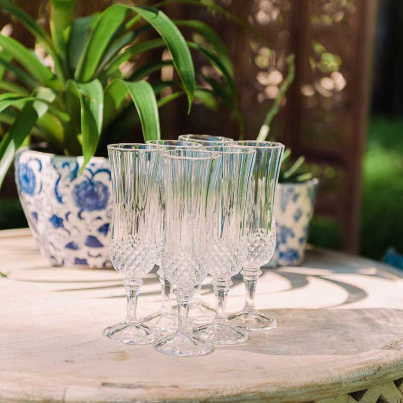 Crystal Cut Glassware [120]