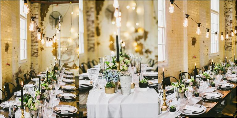 Industrial wedding inspiration the one day house industrial wedding inspiration gold coast wedding hire junglespirit Images