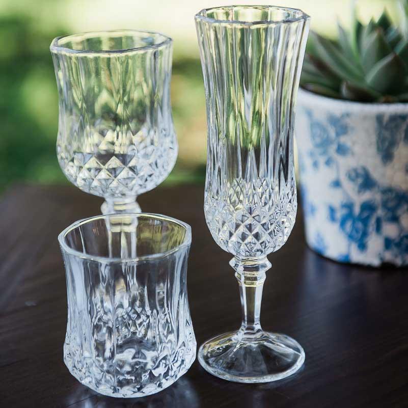 Crystal Cut Glassware 120